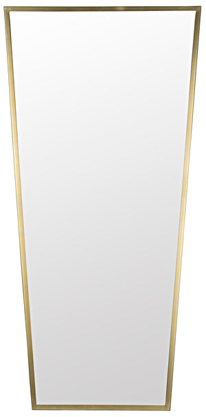 Noir Cassio Mirror - Antique Brass