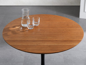 "Soho 36"" Round Table, Amber"
