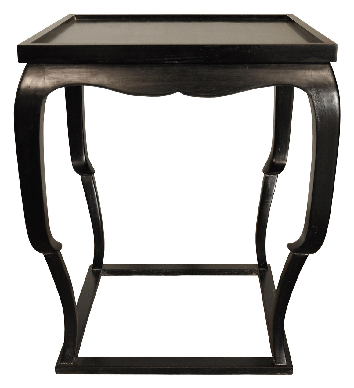 Noir Bellini Side Table - Hand Rubbed Black