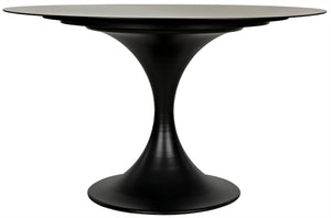 "Noir Herno Table - 48"" - Metal"