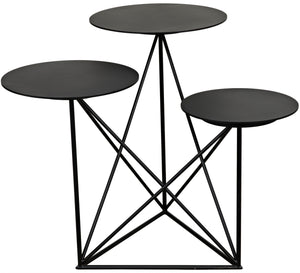 Carrier Side Table - Black Metal