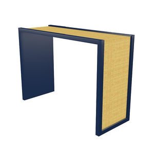 Harbour Island Lacquer Console – Navy Blue (19 colors available)