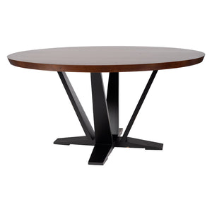 Herman Modern Round Dining Table – 25 Finish Options