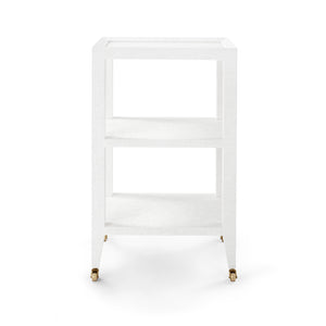 Bungalow 5 Isadora Side Table, White