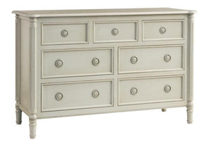 Isabella Lowboy 7-Drawer Dresser Additional Finishes Available