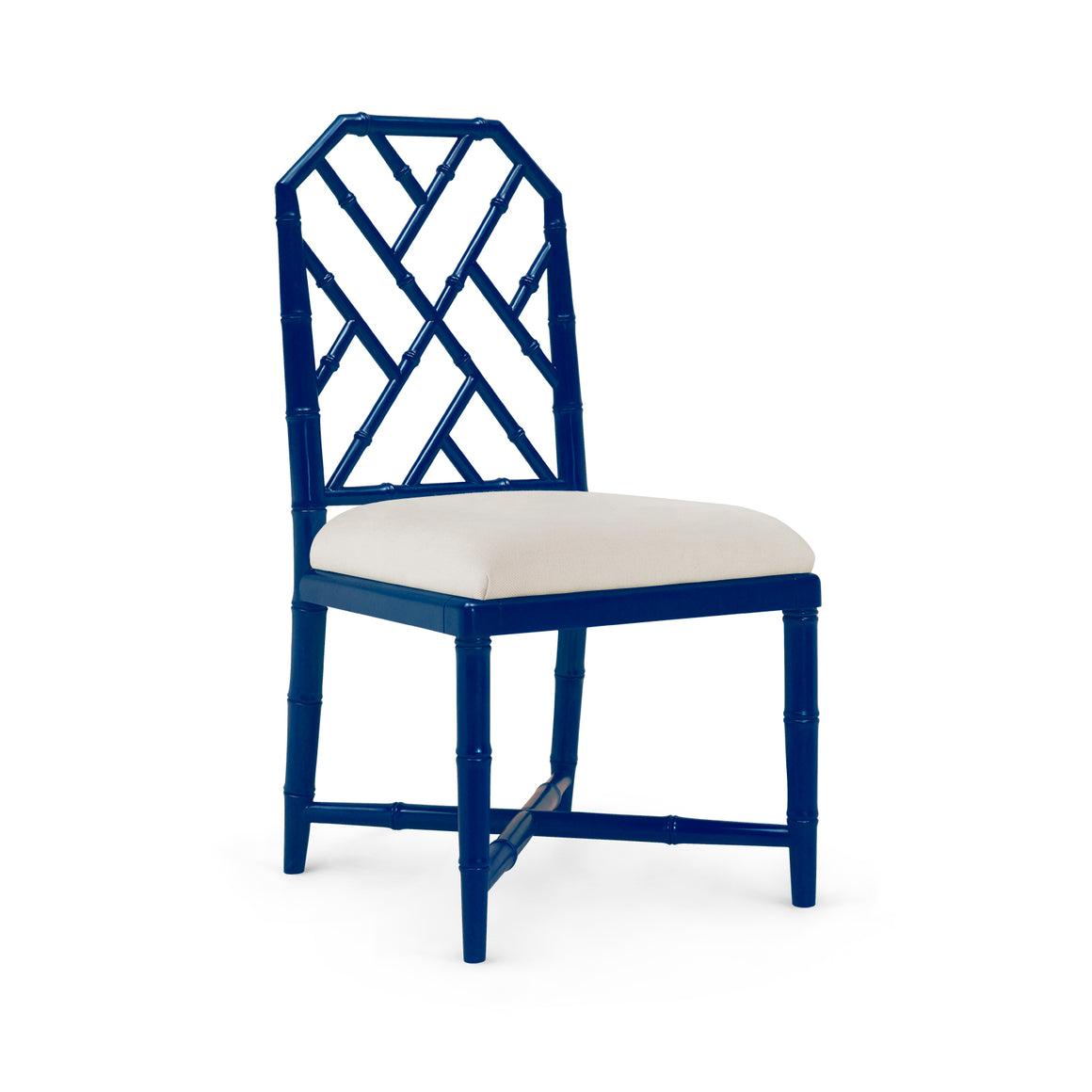 Bungalow 5 Jardin Side Chair, Navy Blue