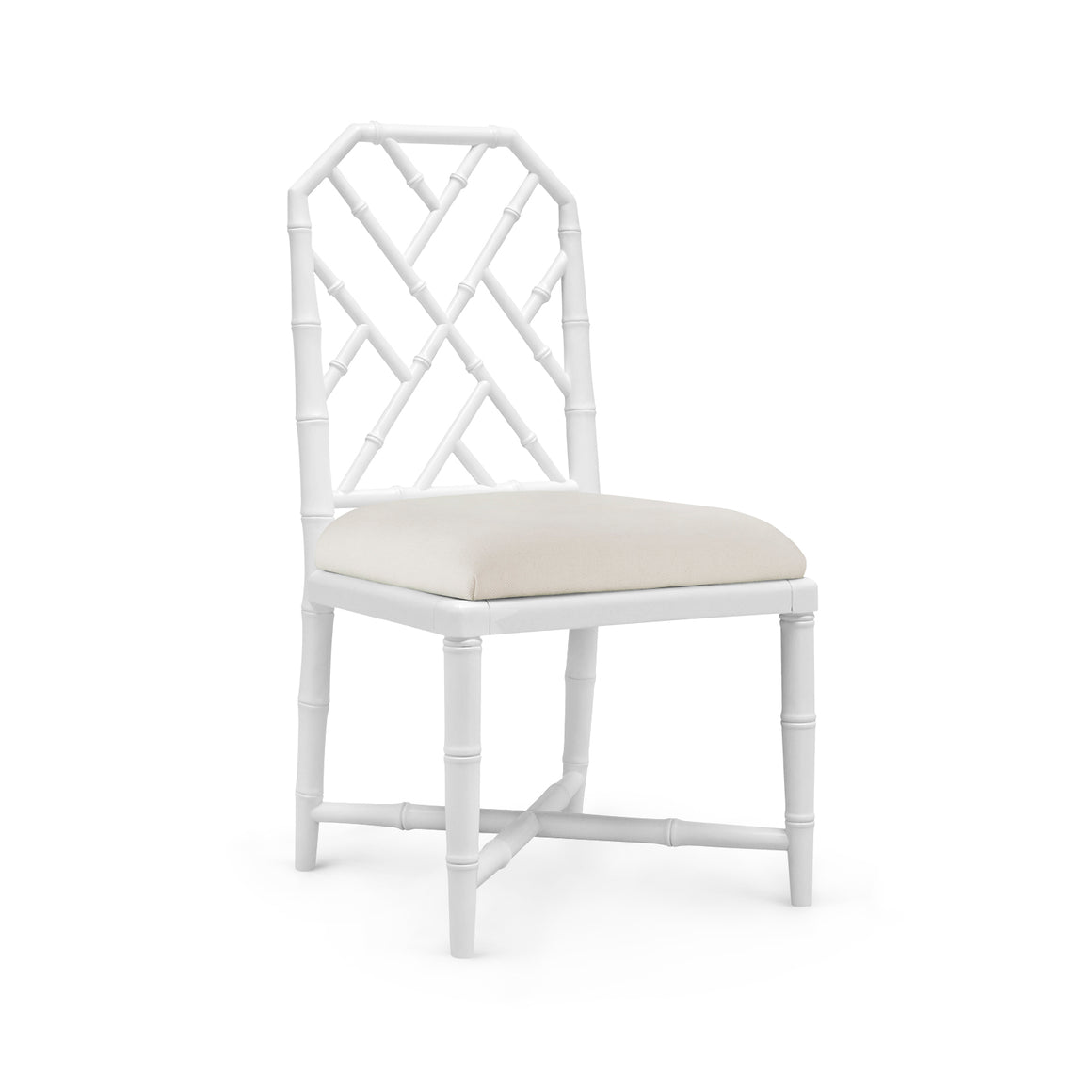 Bungalow 5 Jardin Side Chair, White