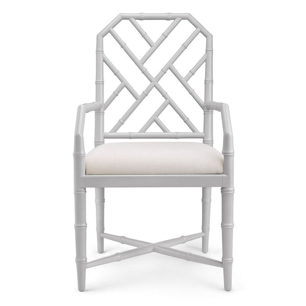 Bungalow 5 Regency Arm Chair — Grey Lacquer