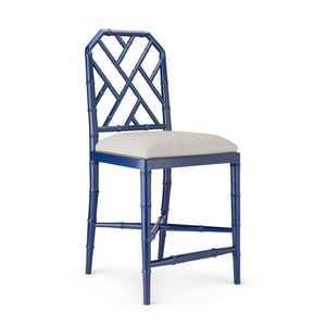 Bungalow 5 Jardin Counter Stool, Navy Blue
