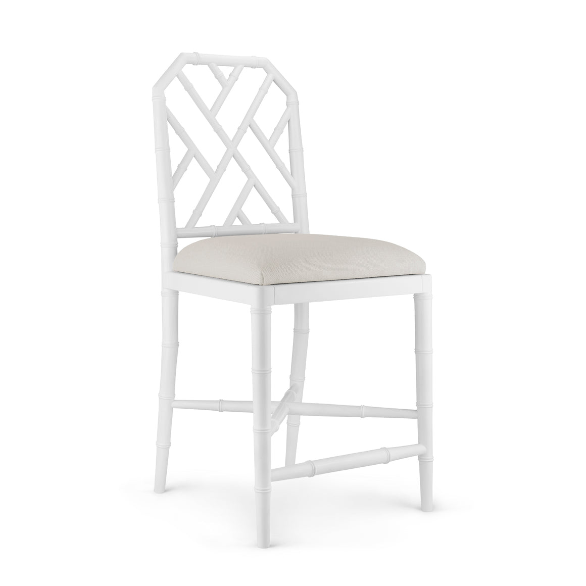 Bungalow 5 Jardin Counter Stool, White
