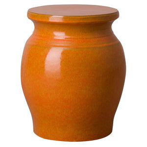 Small Koji Garden Stool - Orange