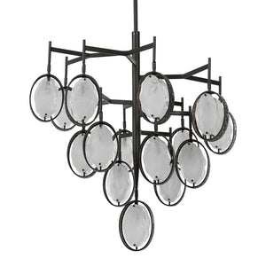 Uttermost Maxin 15 Light Large Bronze Chandelier