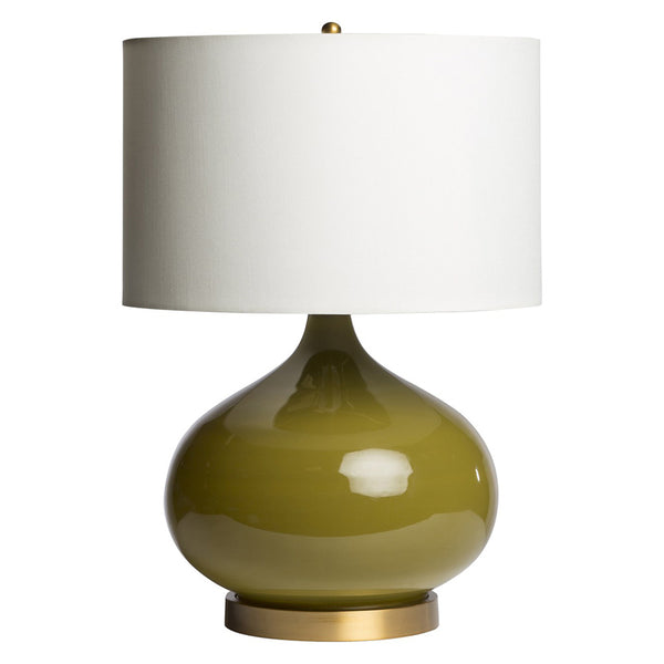 Candace Table Lamp – Olive Green