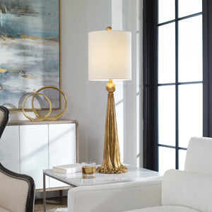 Paravani Metallic Gold Lamp