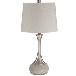 Niah Brushed Nickel Lamp