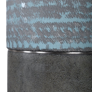 Prova Gray Textured Table Lamp