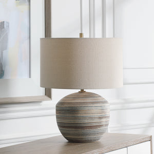 Uttermost Prospect Striped Accent Lamp