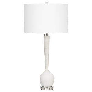 Kently White Marble Table Lamp