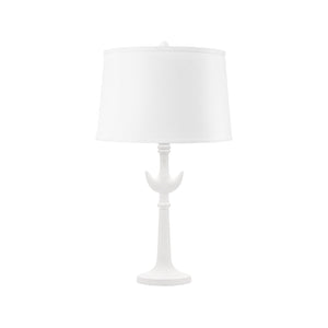 Bungalow 5 Luna Lamp (Lamp Only), White
