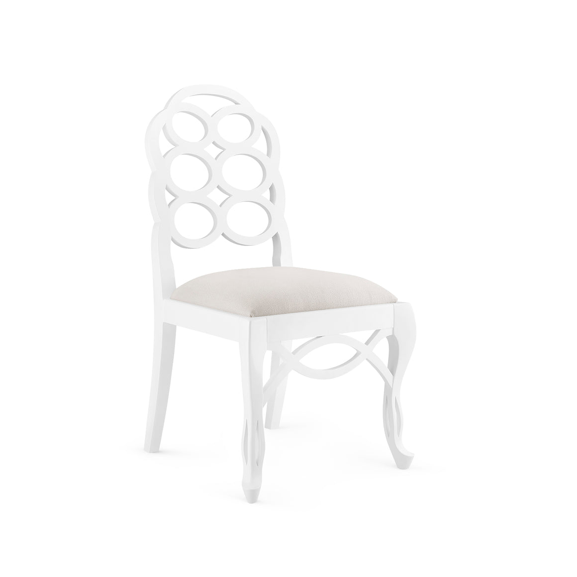 Bungalow 5 Loop Side Chair, White