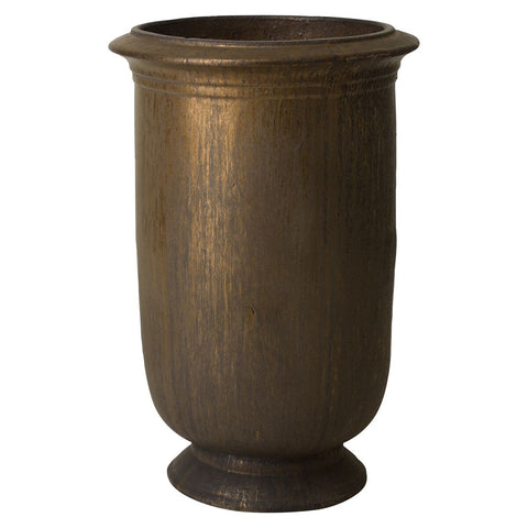 Large Cup Planter – Antique Gold