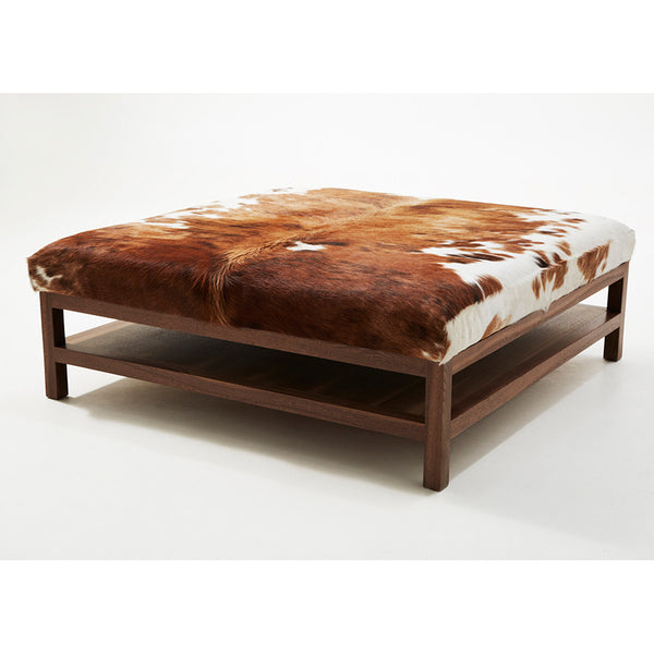 Large Hide Coffee Table – Walnut