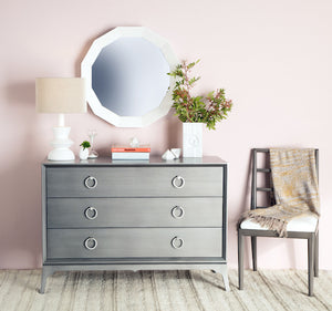 Bennett Three Drawer Low Boy Dresser - (16 Finish & 3 Hardware Options)
