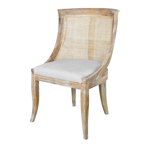 Bungalow 5 Curved Cane Chair — Natural