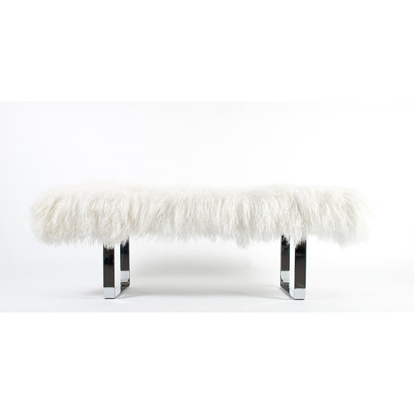 Modern Tibetan Lamb Bench – 7 Colors