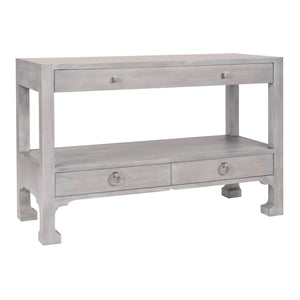 Morris 3-Drawer Console Table with Sculpted Feet (25 Finish Options)