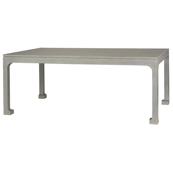 Morris Asian Dining Table Beachwood Finish Options Scenario - Beachwood dining table