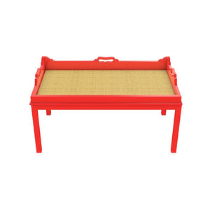Billy Lacquer Coffee Table - Bright Red (Additional Colors Available)