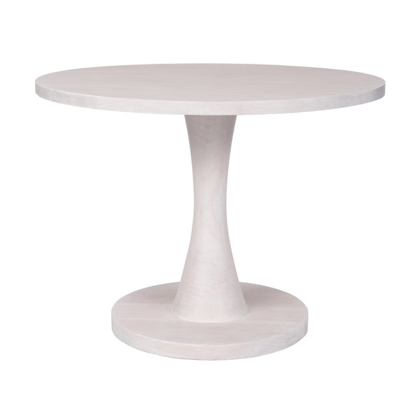 Nina Modern Dinette Table with Turned Pedestal – 25 Finish Options