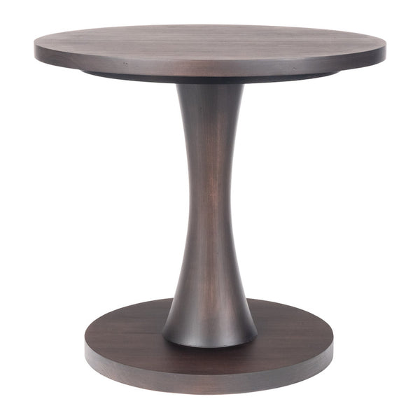 Nina Modern Accent Table – Cocoa Bean (25 Finish Options)