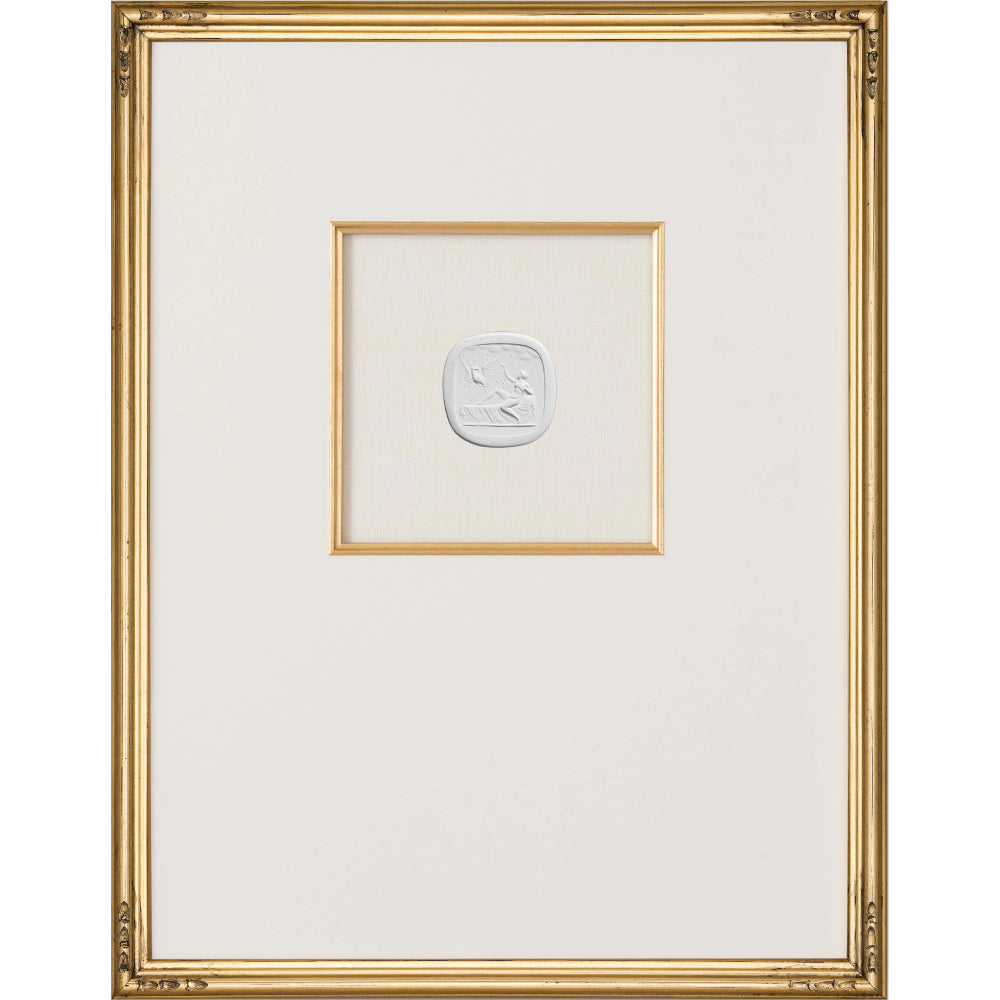 Intaglio Wall Art - Jupiter in Love in Gold (3 Sizes)