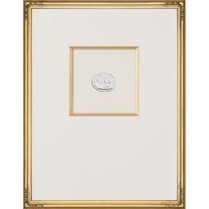 Intaglio Wall Art - Deer of Artemis in Gold (3 Sizes)