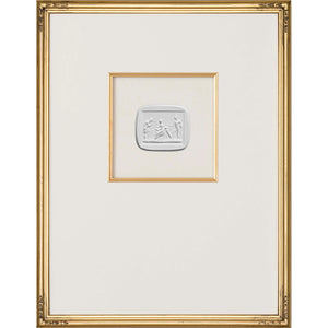 Intaglio Wall Art - Mercury & Venus in Gold (3 Sizes)