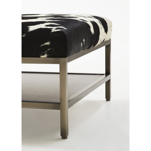 Black & White Hide Coffee Table