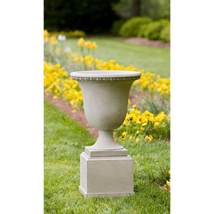 Williamsburg Egg and Dart Urn Planter - Verde  (14 finishes available)