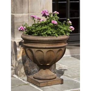 Augusta Fluted Urn Planter - Pietra Nuova  (14 finishes available)