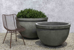 Huntington Small Bowl Planter - Alpine Stone (14 finishes available)