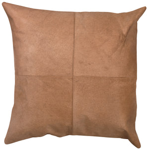 Buff Leather Pillow