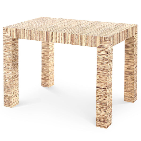 Bungalow 5 Lacquered Papyrus Parsons Accent Table – Natural