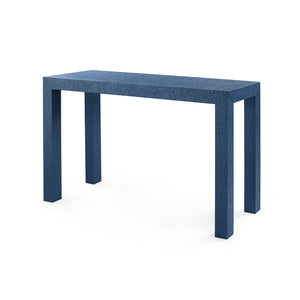 Bungalow 5 Parsons Console Table, Navy Blue