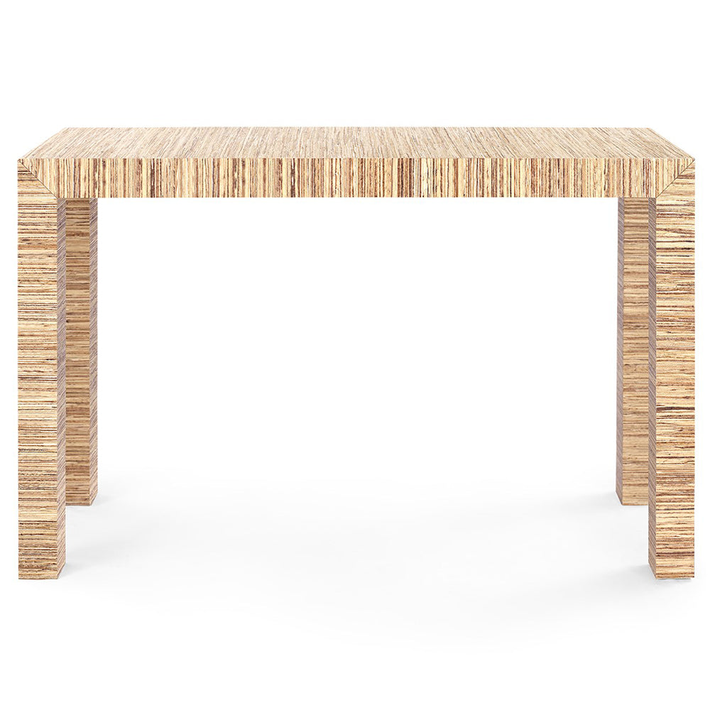 check out 0ff82 f9536 Bungalow 5 Lacquered Papyrus Parsons Console Table – Natural