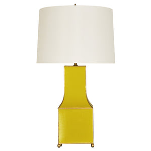 Worlds Away Renata Pagoda Table Lamp – Yellow
