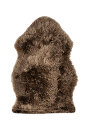 Luxe Brown Premium Sheepskin Rug - 6 sizes