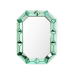 Bunglow 5 ROMANO WALL MIRROR, EMERALD GREEN