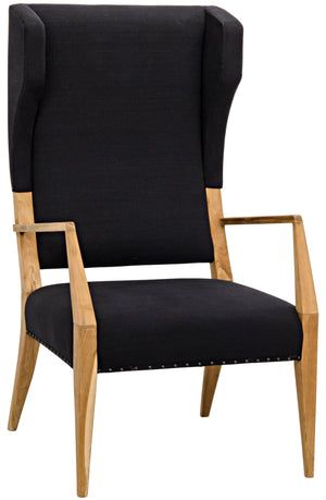 Noir Narciso Chair, Teak