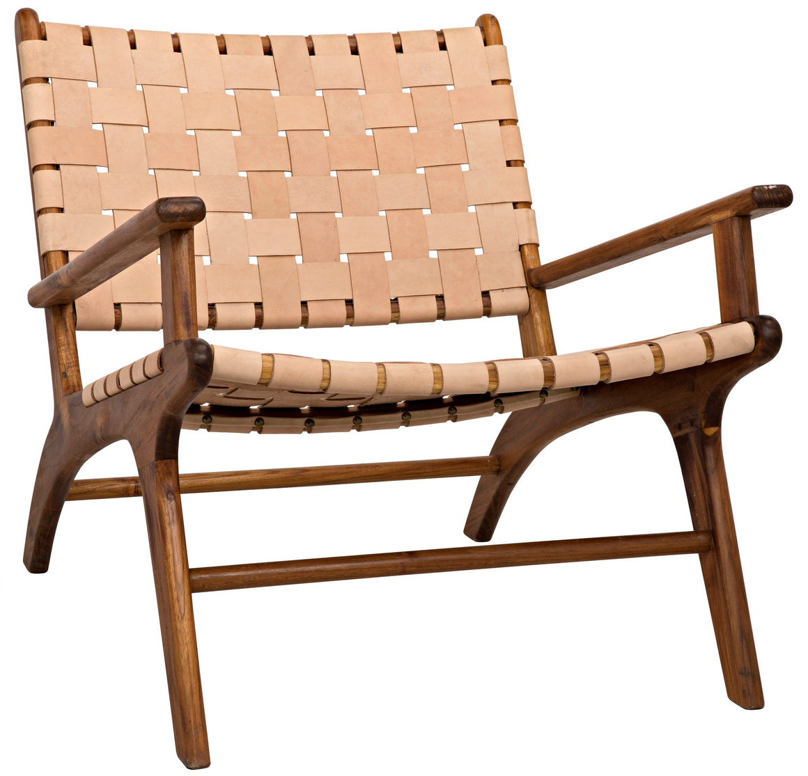 Noir Kamara Arm Chair, Teak